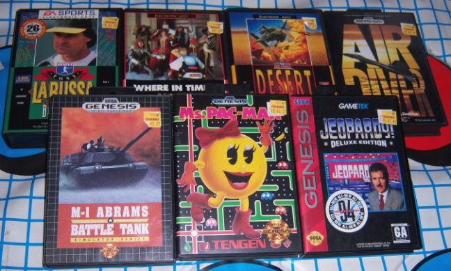how to play mega drive games on genesis